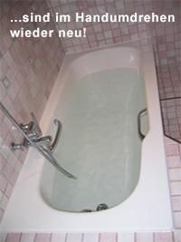 Wanne-in-Wanne-System: Nachher Badewanne wie neu